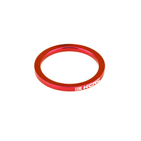 "KCNC Headset Spacer 1 1/8"" 5mm rød"